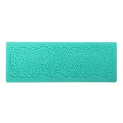Flower Lace Cake Mold Silicone Cakes Fondant Mould
