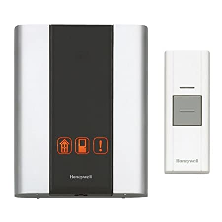 The Honeywell RCWL300A P3 Premium Portable Wireless Door Chime and Push Button makes it easy to replace your home's generic doorbell ring with a chime tune that better fits your individual style. This chime is also compatible with a wide range of opt...