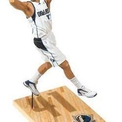 Nba Series 9: Dallas Mavericks #41 Dirk Nowitzki, White Jersey