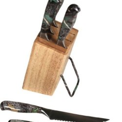 River'S Edge 1920 6Pc Camo Knife Set