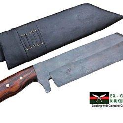 "14"" Rust Free Freedom Machete Knife - Full Tang Hand Forged Blade Bushcraft Khukuri Or Khukris Handmade By Ex Gurkha Khukuri House In Nepal"