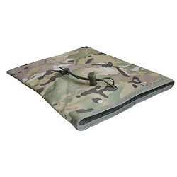 Tenflyer Portable Big Nylon Drawstring Recycling Storage Accessories Bag (Uk Army Camouflage)
