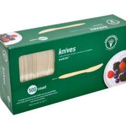 "Trellis Earth Wfs-67 Bioplastic Knife, 6-1/2"" Length (6 Packs Of 500)"