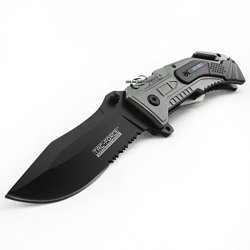 Unlimited Wares Air Force Tactical Assisted Opening Folding Knife 4.5-Inch Closed
