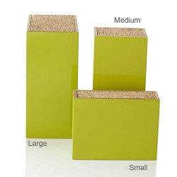 "Bamboo Box Knife Holder, Green, Large 5""L X 7.5""W X 10.5""H"
