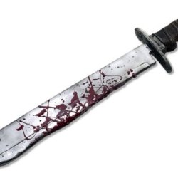 Friday The 13Th Jason Deluxe Machete Costume Accessory