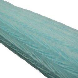 "26"" Crepe Paper Wrinkle Non-Woven Decor Making 10 Yard Roll - Light Blue"