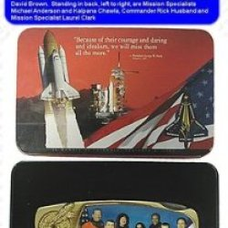 Memorial - Space Shuttle Columbia Crew Knife