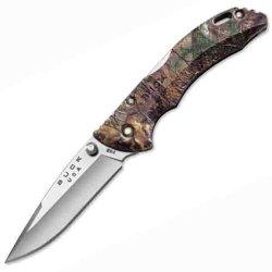 Buck Knives 284Cms18 Bantam, Realtree, Xtra Camo Handle, Plain