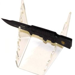New Acrylic 6- Pocket Knife Display Knife Is Not Included