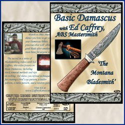 Basic Damascus With Ed Caffrey, Abs Mastersmith (Dvd)