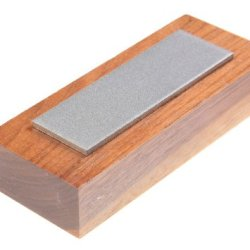 Eze-Lap 22F 1 By 3 Fine Diamond Stone On A Walnut Pedestal