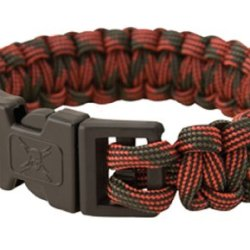 United Cutlery Uc2874 Elite For Ces Paracord Bracelet, Red Camo