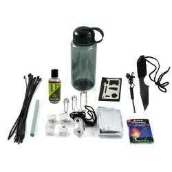 26Pc Ultimate Outdoor Survival Emergency Preparedness Camping Bottle Kit