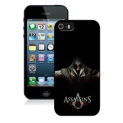 Diy Assassins Creed Desmond Miles Hands Knifes Hood Iphone 5 5S 5Th Black Phone Case