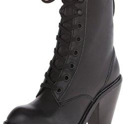 Kelsi Dagger Women'S Breda Combat Boot, Black, 8 M Us