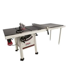 Jet 708495K Jps-10Ts, 10-Inch Proshop Tablesaw With 52-Inch Fence, Cast Iron Wings And With Riving Knife