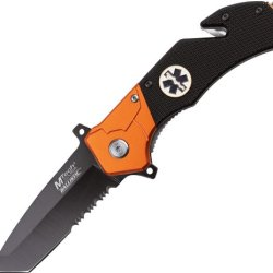 Mtech Usa Mt-A836Em Spring Assisted Knife, 4.75-Inch Closed