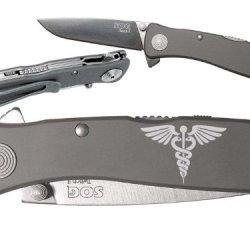 Star Of Life Medical Ems Emt Custom Engraved Sog Twitch Ii Twi-8 Assisted Folding Pocket Knife By Ndz Performance