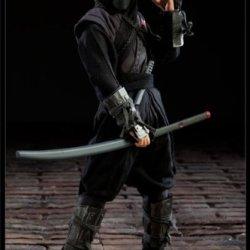 """Gi Joe Cobra Black Dragon Ninja 12"""" Figure By Sideshow Collectibles"""