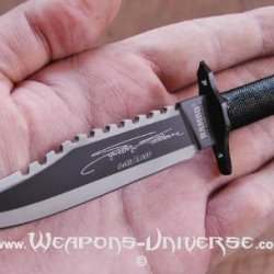 Rambo Ii: Stallone Signature Edition Fixed Blade