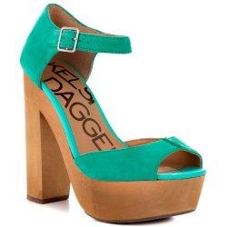 Kelsi Dagger Women'S Wynette Sandal, Jade, 6.5 M Us