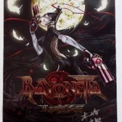 "2014 Anime Expo Signed Fuminori Kizaki Bayonetta: Bloody Fate Exclusive Poster 17"" X 11"""