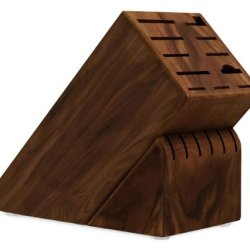 Cutlery And More 17-Slot Universal Knife Block (Walnut)