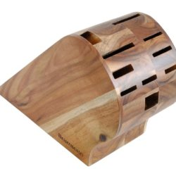 Messermeister 10-Slot Acacia Knife Block