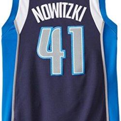 Nba Dallas Mavericks Dirk Nowitzki #41 Youth Swingman Alternate Jersey, Navy, Small