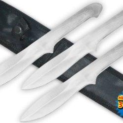 Tk-090-3 10.5 Inch Assassin'S 0C05S12Q Creed Ii Throwing V086O5W6B646 Knives Set (Set Of 3) Folding Knife Steel Edge Dagger Sharp Metal Steel