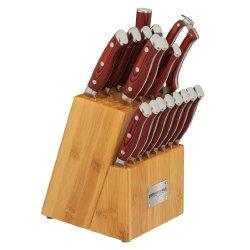 Crimson Series 18 Piece Knife Block Set
