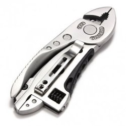 Hand Multi-Tool With Cast Stainless Construction