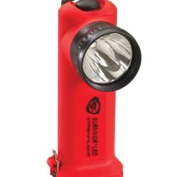 Streamlight 90503 Survivor Led 6-3/4-Inch Flashlight With Charger, Orange