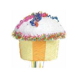 Multicolor Cupcake Pinata
