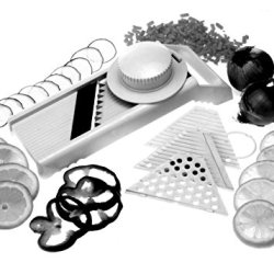 Norpro 7-In-1 Mandoline Slicer/Grater With Guard New