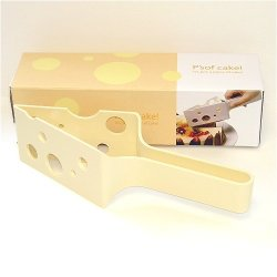 P'Sof Cake! Cream Color Cake Cutter & Server