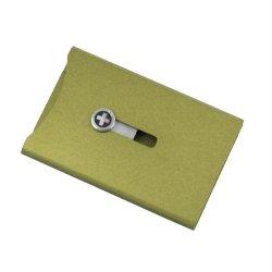 Wagner Super Slim Wallet, Green Sw704