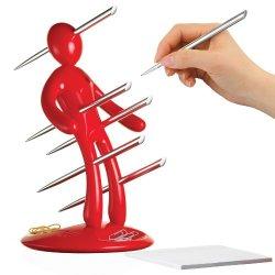 The Ex Red Pen Holder Set Designed By Raffaele Iannello
