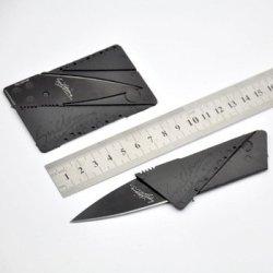 3Pcs/Lot Hot Selling Sinclair Cardsharp 2 Credit Card Knife Wallet Folding Safety Knife Pocket Camping Hunting Knife