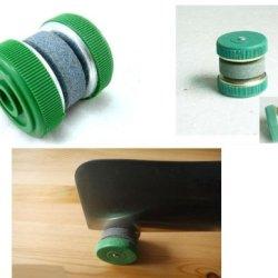 Ensunpal Store Knife Sharpener Stone Abrader Plastic Grinding Wheels