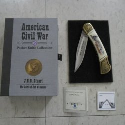 American Civil War Pocket Knife Collection: J.E.B. Stuart