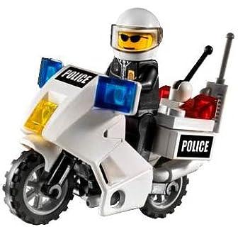 レゴ シティ 白バイパトロール 7235