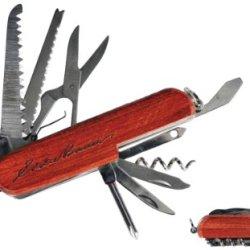 Eddie Bauer Classic Wooden 13 Function Pocket Knife