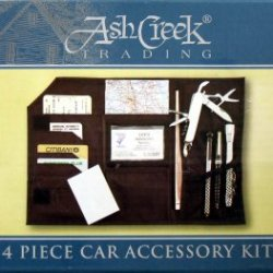 Ash Creek 4 Piece Car Accessory Kit W Carry Case