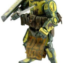 "Threea Toys Caesar Deimos Ii ""World War Robot"" Action Figure"