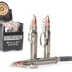 30-60 Bullet Knife 5 Inch Keychain