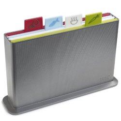 Joseph Joseph Index Advance Chopping Board Set - Silver
