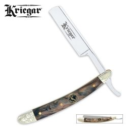 Kriegar Gentleman Abalone Razor Folding Knife