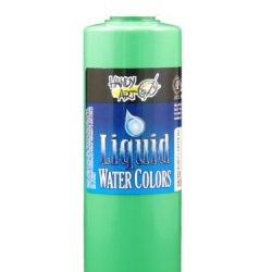 Handy Art By Rock Paint, 276-158, Washable Liquid Watercolor 1, Fluorescent Green, 8-Ounce